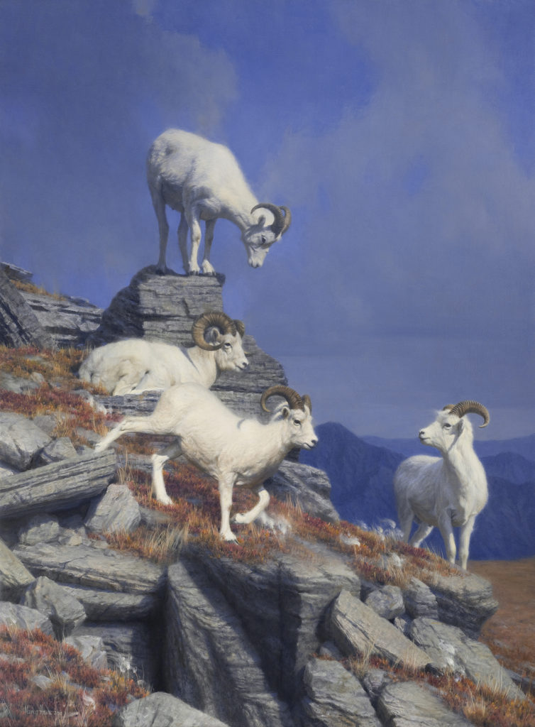 Above Us Only Sky • 2010 • 36 x 27 • Oil on linen