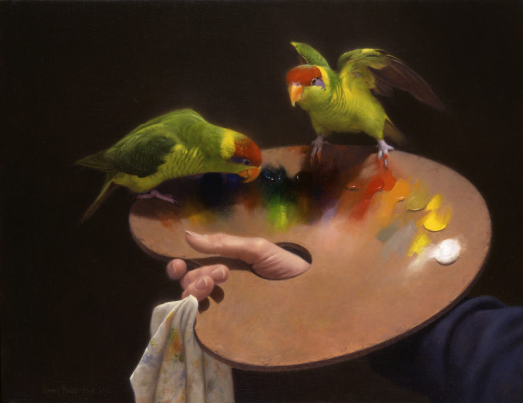 Birds in Art • 2004 • 14 x 18 • Oil on linen