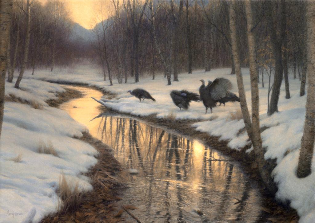 Liquid Light, Frozen Shadows • 2013 • 18 x 26 • Oil on Linen