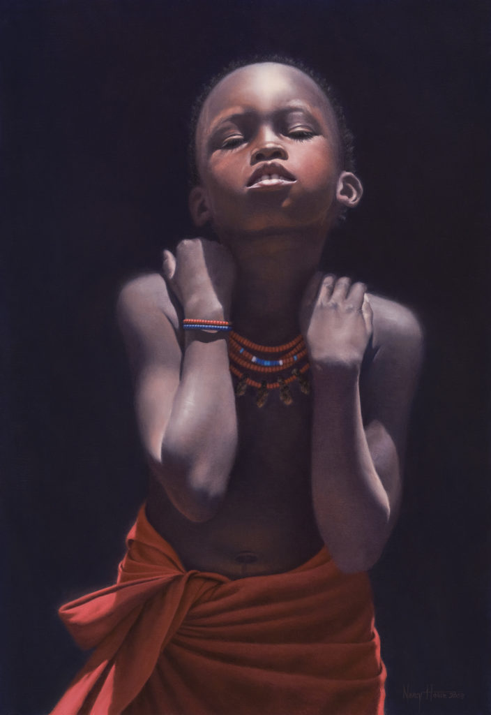 Minds Innocent and Quiet • 2008 • 23.5 x 16.5 • Oil on Linen • Available Tilting at Windmills Gallery