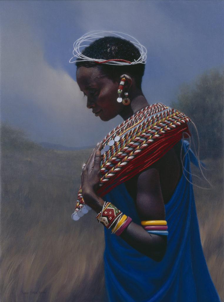 Samburu Circles • 2006 • 24 x 18 • Oil on linen