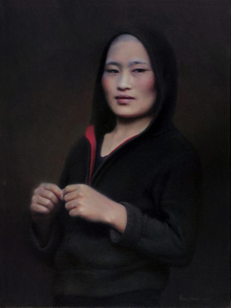The Sublime • 2012 • 24 x 18 • Oil on linen • Bhutan